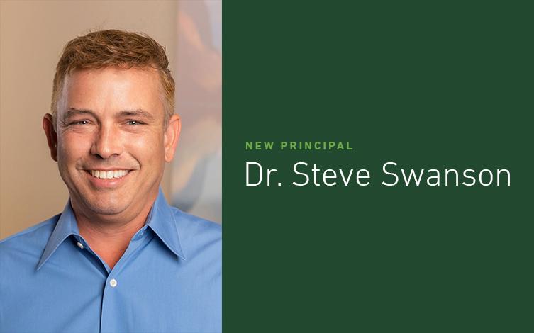 EPG Names Dr. Steve Swanson Newest Principal